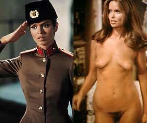 barbara bach, who starred as anya amasova in 1977's the spy who loved me, naked