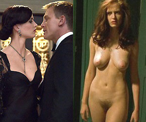 eva green who starred in the 2006 remake of casino royale naked