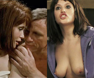 gemma arterton, who starred as strawberry fields in quantum of solace, naked