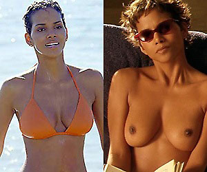 halle berry who starred in 2002's die another day naked