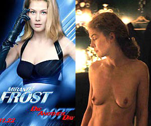 rosamund pike, who played miranda frost in 2002's die another day, naked